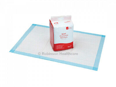 New - Readi Disposable Incontinence Bed Pads 60 x 90cm 1700ml Absorbency...