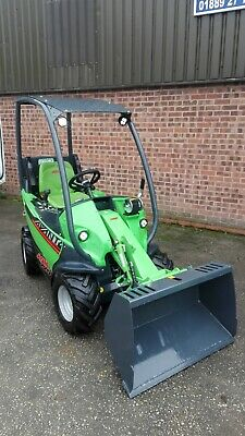 Avant 225 Mini Loader Complete With Bucket - Only Done 6 Hours - Low Price - Fin