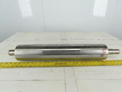 """Dematic 4"""" x 21"""" BF 21"""" Flat Face Conveyor Drive Roller Pulley"""