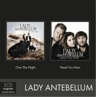 Lady Antebellum-Need You Now/Own the Night CD / Box Set NEU