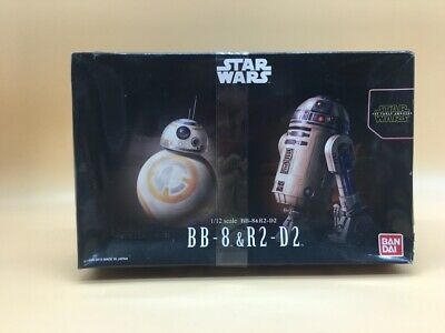 Star Wars Bb8 - R2 D2  Bandai Model Kit 1/72 Japan  Rare New