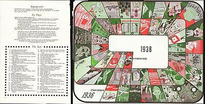 1938 Nitsche Board Game Tracing the Events of the Year 1937