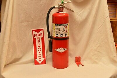 10Lb Abc Fire Extinguisher Amerex  Refurbished In Very Good Condition