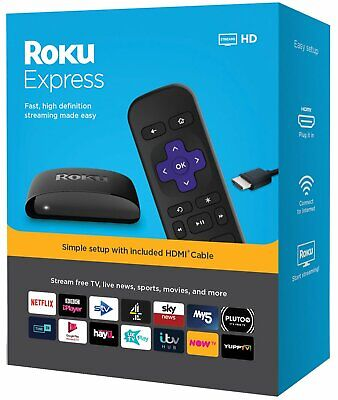 Roku Express HD Streaming Media Player