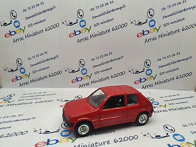 PEUGEOT 205 MADE IN FRANCE - SOLIDO   1:43 eme   emballage d'origine (  neuf  )