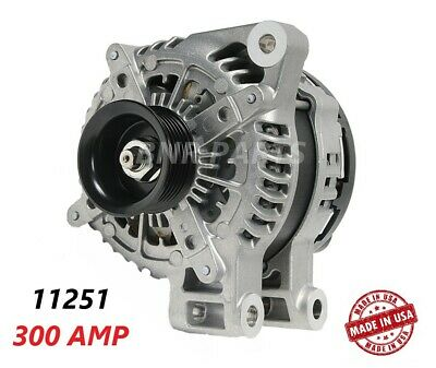 300 AMP 11251 Alternator Cadillac Chevy Suzuki HIGH OUTPUT Performance HD USA