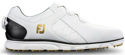 Footjoy Pro Sl Boa Spikeless Golf Shoes White/Black - Choose Size & Width