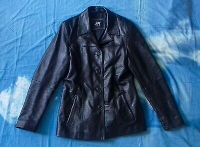 Gipsy By Mauritius Ledejacke Coat Leather Jacket Size Xl 42 Damen Echtes Leder