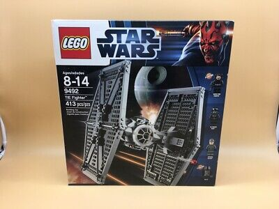 Star Wars Lego  Tie Fighter   9492 Rare  New !