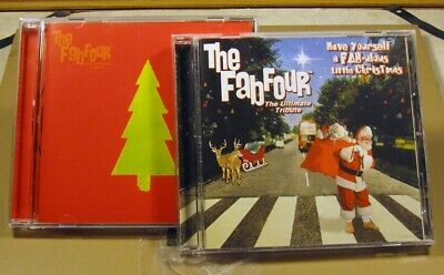 Fab Four Christmas 2 CD Box Set Beatles Holiday Tribute Have Yourself Fab-ulous