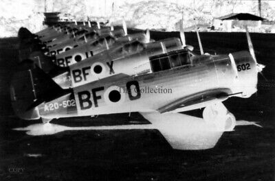 Commonwealth Wirraway A20-502 35mm copy negative