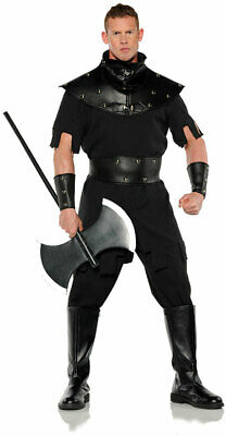 Punisher Tunic Top Faux Leather Halloween Medieval Gothic Costume Adult Men