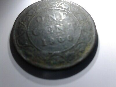 1900 NO-H  CANADA LARGE CENT Victoria COIN CANADIAN