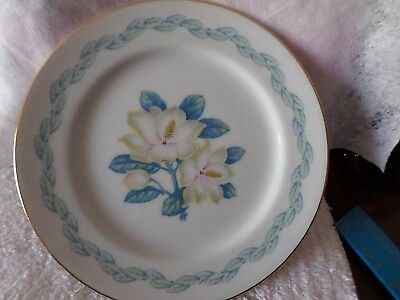 Narumi China Magnolia Plate Occupied Japan