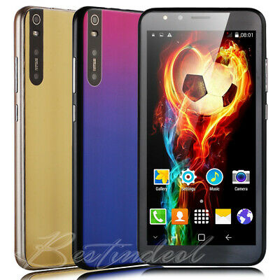 "Luxury 5.5"" 4Core Android 8.1 Cell Phone Unlocked Smartphone 2SIM 8GB Smartphone"