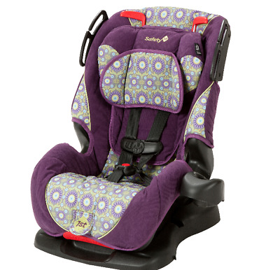 Baby Toddler Child 3 in 1 Convertible Car Seat Purple Travel Safe Adjustable