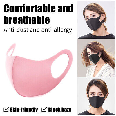 Anti-Bacterial Washable Mouth Masks Anti-PM2.5 Anti-Haze Dust Pollen Allergy