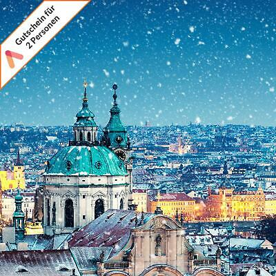Winter Kurzreise Prag 3 - 4 Tage Luxus Hotel International Gutschein 2 Personen