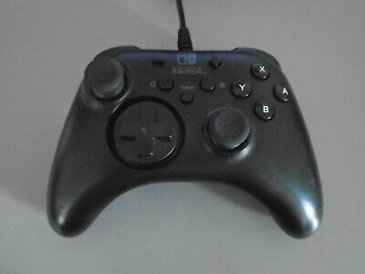 Horipad Nintendo Switch Wired Controller officially licensed black control pad