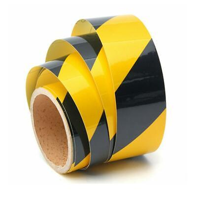 PVC Waterproof Double-sided Reflective Safety Warning Tape Film Sticker Tool UK