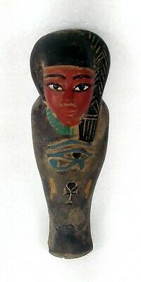 Superb Egyptian Antique Female Ushabti Figure Possibly a Priestess Or Princess