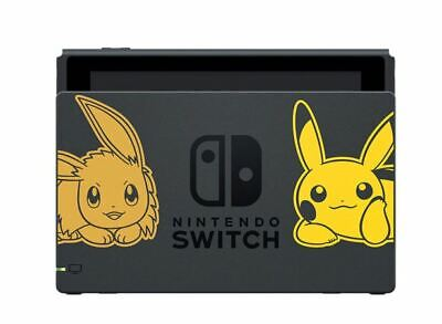 Nintendo Switch Dock Let's Go! Pikachu Let's Go! Eevee Free Shipping from Japan!