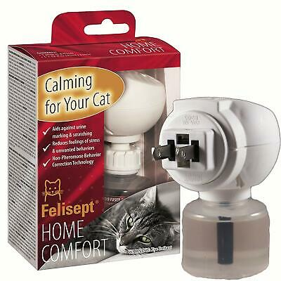Felisept Home Comfort Plug-In Diffuser and Refill Set - Tension Relief for Cats