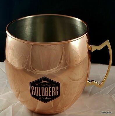 Goldberg & sons Tonic Kupfer Becher Mug Moscow Mule Metall cup copper Cocktail