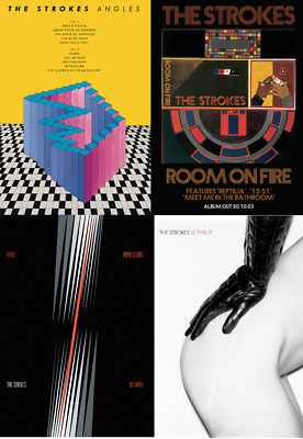 THE STROKES Album & Single Posters A4, A3, A2 High Quality + Glossy 220gsm