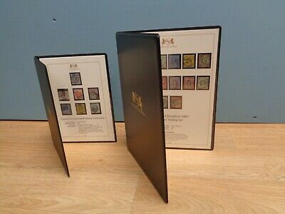 Harrington & Byrne 1887 Jubilee & Queen Victoria 1841 Stamp Collections with COA