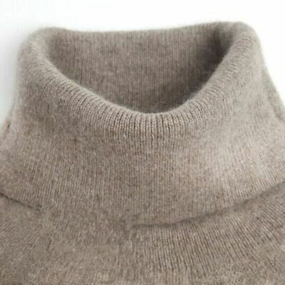 Winter Cashmere Knitted Sweater Female Pullover Turtleneck Women Bottoming Warm