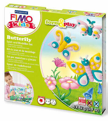 Neu Staedtler FIMO kids Form & Play Butterfly 5051118