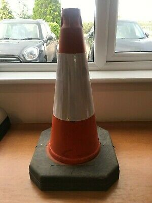 "18"" Road Works Traffic Cone"