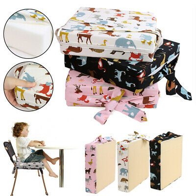 Children Highchair Pad Baby Booster Seat Cushion Removable Kids Dining Chairs