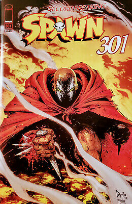 Spawn #301 Greg Capullo Variant Cover B