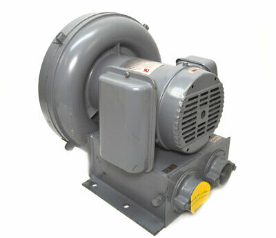 NEW Spencer VB-007SE-U Vortex Blower 110-CFM 0.7-kW 2-Pole 115-230VAC Bearings