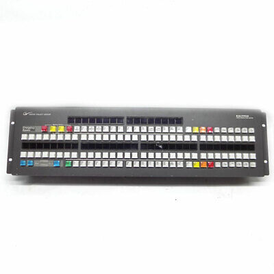 GVG Grass Valley Group 610093500 Video Production Center Auxiliary Panel Switch