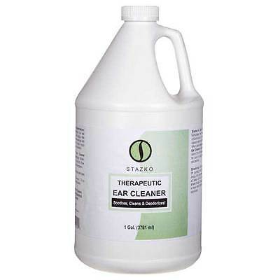 Pet Ear Cleaner Gentle Therapeutic Formula Dog Groomer One Gallon Size