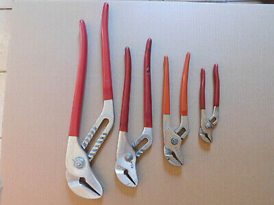 Blue Point Adjustable Pliers Set ( 4 PC ) As Sold By Snap On