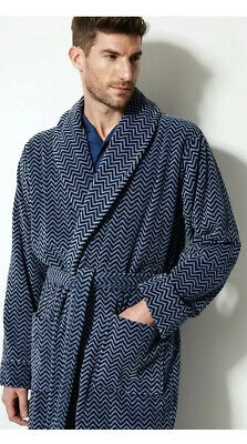 Ex M&S Luxury Collection Mens Dressing Gown Rrp £59 Size Large