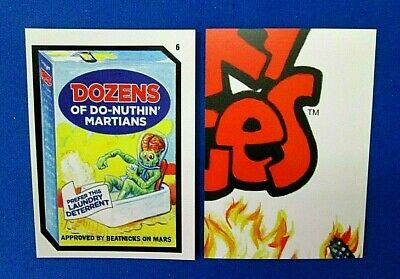 2019 Topps Attacky Packages (Mars Attacks Wacky Packages)) #6 Dozens Of Do-Nu..