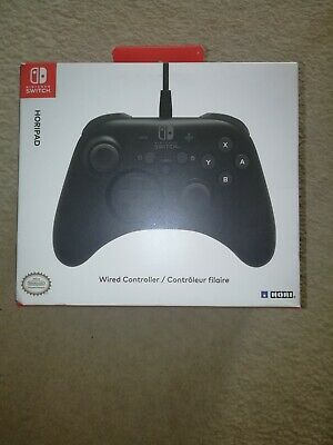 Official Genuine Nintendo Switch Hori Horipad Boxed Wired Controller
