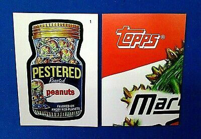 2019 Topps Attacky Packages (Mars Attacks Wacky Packages))  # 1 Pestered Peanuts