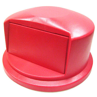 Rubbermaid Commercial 2637-88-Red 32 Gallon Brute Trash Can Dome Top Lid 2632