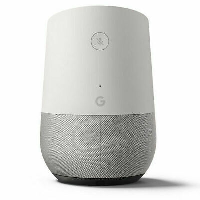 New Google Home Voice Activated Smart Speaker - White Slate