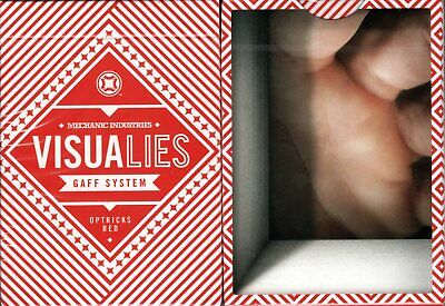 Visualies Gaff System Playing Cards Poker Size Deck USPCC Custom Limited Sealed