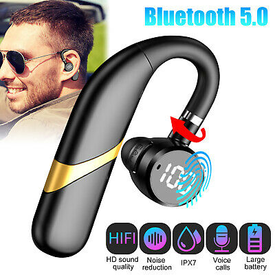 Wireless 5.0 Bluetooth Earphone Earbuds Headphone For Samsung iPhone Android IOS