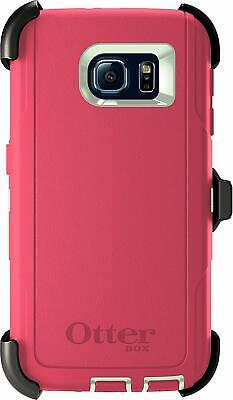 OtterBox Defender Series Case & Holster for Samsung Galaxy S6 - Melon Pop (Sage