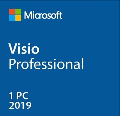 Instant MS Visio 2019 Pro Professional (32/64 Bit) Activation Product Key