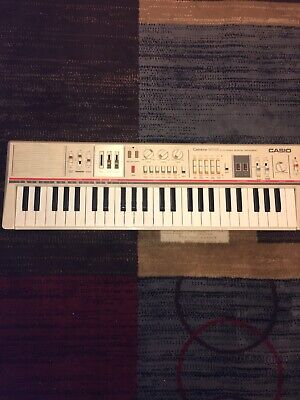 Nice Vintage Casio MT-65 Casiotone Keyboard Piano Synth Analog Beat Synthesizer
